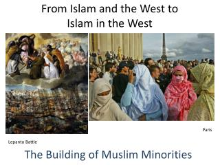 From Islam and the West to  Islam in the West