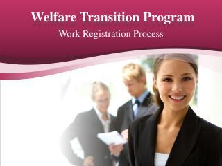 Welfare Transition Program