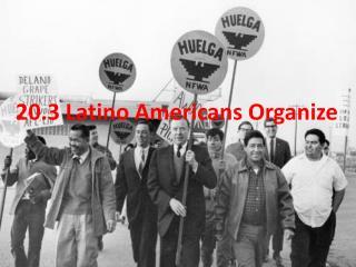 20.3 Latino Americans Organize