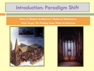 Introduction: Paradigm Shift
