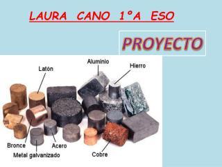 LAURA  CANO  1ºA  ESO