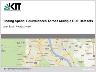 Finding Spatial Equivalences Across Multiple RDF Datasets