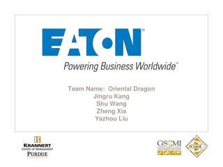 Team  Name:  Oriental Dragon Jingru  Kang Shu Wang Zheng Xia Yazhou  Liu