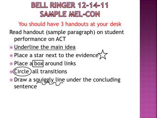 Bell Ringer 12-14-11 Sample  Mel-Con
