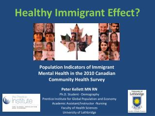 Healthy Immigrant Effect?