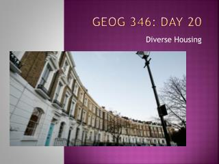 GEOG 346: Day  20