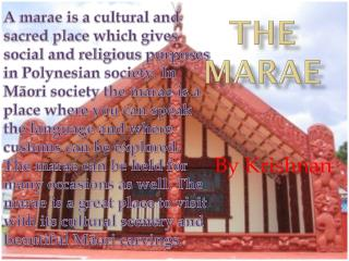The marae