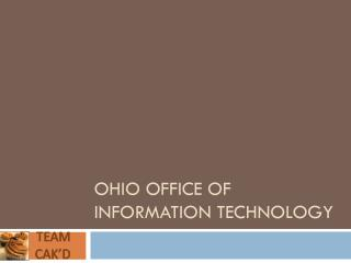 Ohio Office of Information Technology
