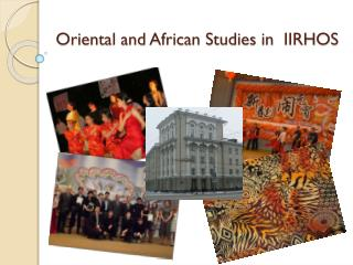 Oriental  and African Studies  in  IIRHOS