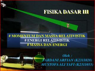FISIKA DASAR III