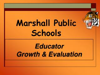 Educator  Growth & Evaluation