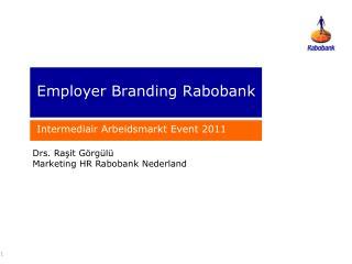 Employer Branding  Rabobank
