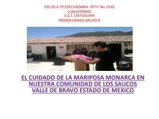 C.C.T . 15ETV0139H PRIMER GRADO GRUPO B