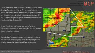 Radar courtesy of Weather Underground originating from NWS  Nexrad