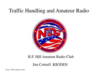 Traffic Handling and Amateur Radio