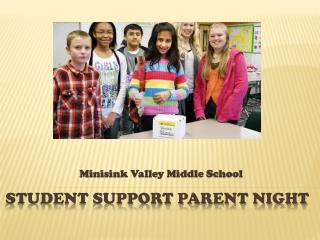 Student support parent night