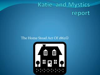 Katie  and Mystics  report
