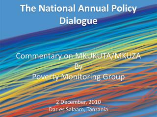 The National Annual Policy Dialogue