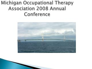 Michigan Occupational Therapy Association 2008 Annual Conference