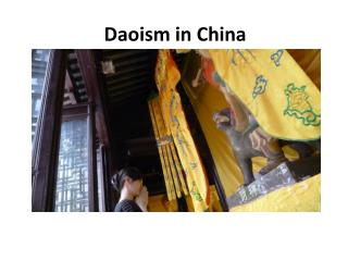 D aoism  in China