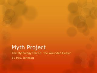 Myth Project