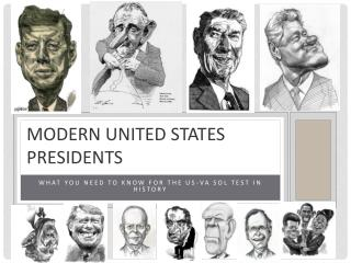 Modern United states presidents
