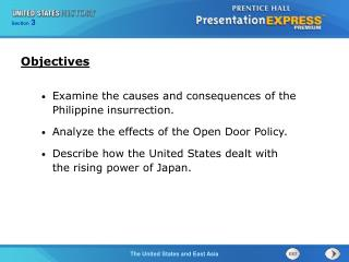 Examine the causes and consequences of the Philippine insurrection.