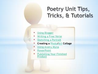 Poetry Unit Tips, Tricks, & Tutorials