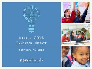 Winter 2011 Investor Update