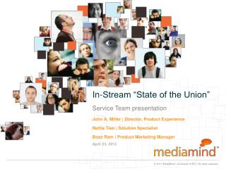 """In-Stream """"State of the Union"""""""