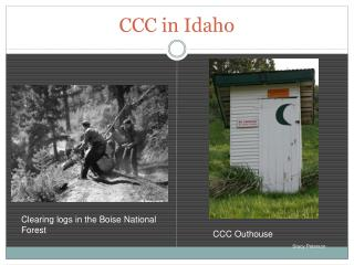CCC in Idaho
