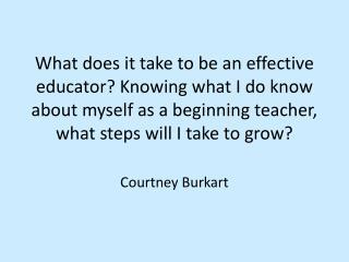 Courtney Burkart