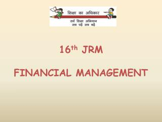 16 th  JRM FINANCIAL MANAGEMENT