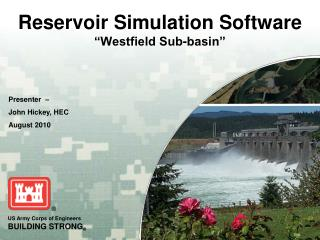 "Reservoir Simulation Software ""Westfield Sub-basin"""