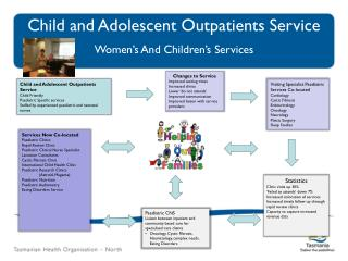 Child and Adolescent Outpatients Service Women's And Children's Services