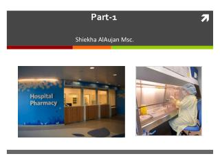Hospital  Pharmacy Part-1