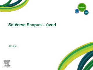 SciVerse Scopus  – úvod