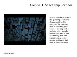 Alien  Sci  Fi Space ship Corridor