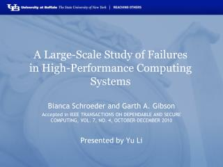 A Large-Scale Study of Failures in High-Performance Computing Systems