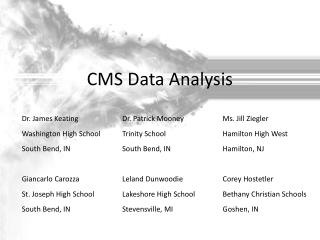 CMS Data Analysis