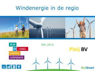 Windenergie in de regio