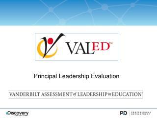 Principal  Leadership  Evaluation