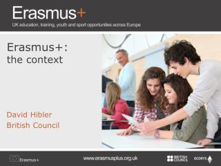 Erasmus+: the context