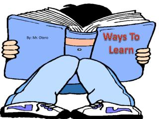 Ways To Learn