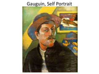 Gauguin, Self Portrait