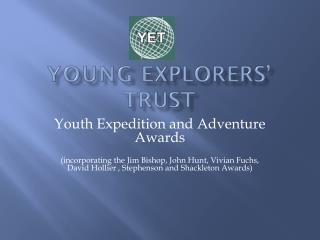 Young  explorers' trust