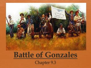 Battle of Gonzales