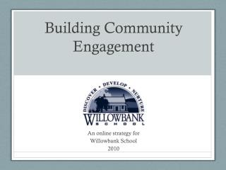 Building Community Engagement