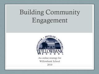 Building Community Engagement
