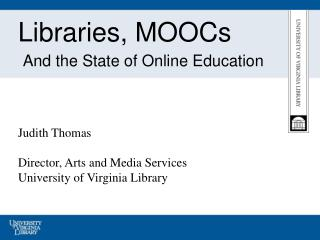 Libraries, MOOCs